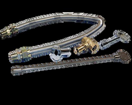CROSSFIRE CFBDT240 Double Tree-Style Brass Burner