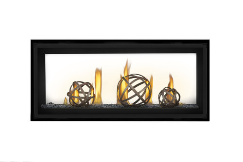 "Napoleon LVX38 Luxuria See Thru Direct Vent Gas Fireplace 38"" - LVX38N2X"