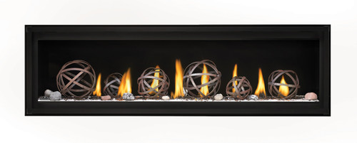 "Napoleon Luxuria 62"" Single Sided Direct Vent Gas Fireplace 62"" - LVX62NX"