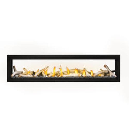 "Napoleon Luxuria 74""  See-Thru Direct Vent Gas Fireplace 74"" - LVX74N2X"