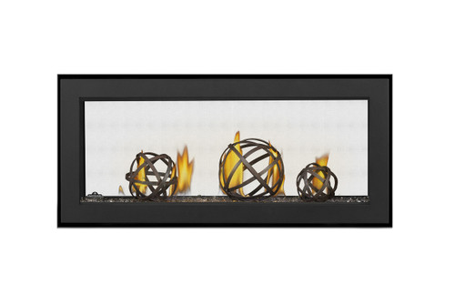 "Napoleon Vector 38"" See Thru Direct Vent Gas Fireplace - LV38N2-1"