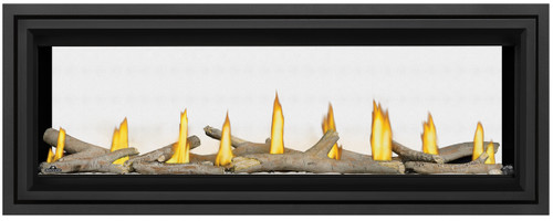 "Napoleon Vector 50"" See Thru Direct Vent Linear Fireplaces - LV50N2-2"