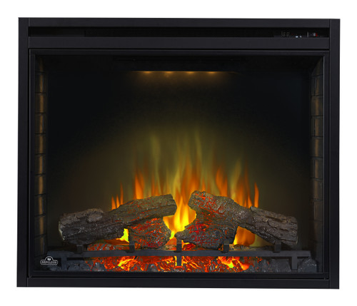 "Ascent 40""  Fireplace -Clear"