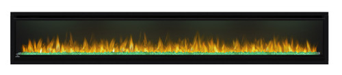 Napoleon Alluravision™ 100 Deep Depth Electric Fireplace - Glass Front, Black - NEFL100CHD