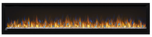 Napoleon Alluravision™ 74 Deep Depth Electric Fireplace - Glass Front, Black - NEFL74CHD
