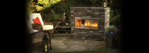 Regency Horizon HZO42 Contemporary Outdoor Gas Fireplace