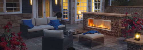 Regency Horizon HZO60 Large Contemporary Outdoor Gas Fireplace