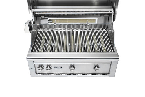 """Lynx 36"""" Freestanding All-Trident Grill with Rotisserie and Flametrak"""