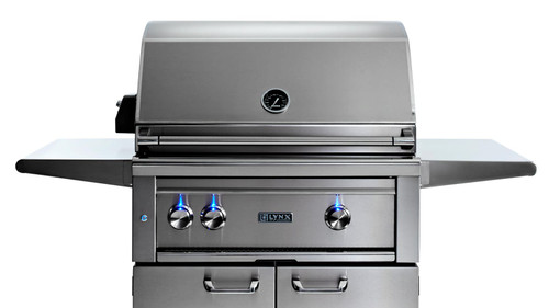 """Lynx 30"""" Freestanding Grill - All Trident IR Burner with Rotisserie"""