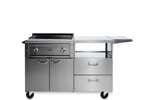 "Lynx 30"" Asado Grill on Mobile Kitchen Cart"