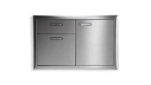 """Lynx 36"""" Access Door Drawer Combination"""
