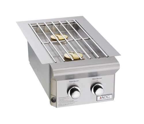 American Outdoor Grill - Built-In Side Burners