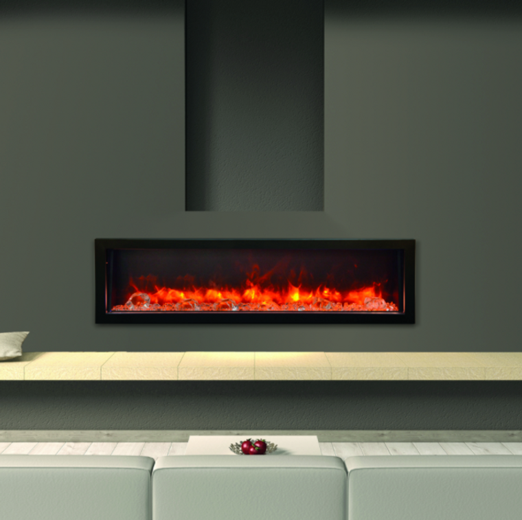 Amantii Panorama Series - Indoor / Outdoor Electric ... on Embers Fireplaces & Outdoor Living id=62256