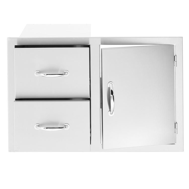 Summerset Door/2-Drawer Combo - Storage Drawers - SSDC ... on Summerset Outdoor Living id=66680