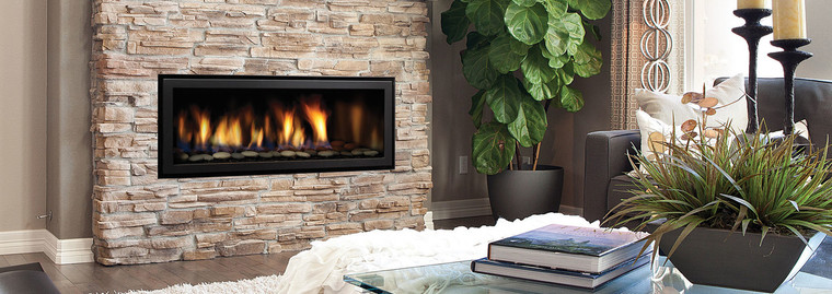 Regency Horizon HZ40E - Contemporary Gas Fireplace ... on Embers Fireplaces & Outdoor Living id=93283