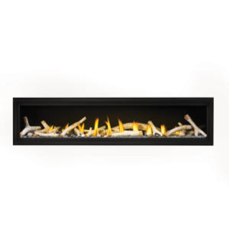 "Napoleon Luxuria 74"" Single Sided Direct Vent Gas ..."