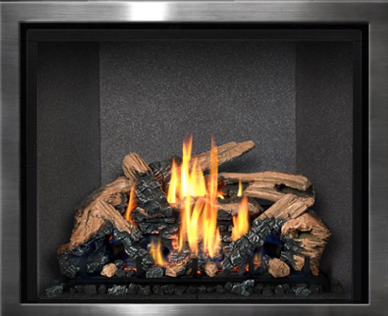 Mendota- FullView Series Gas Fireplace - Embers Fireplaces ... on Embers Fireplaces & Outdoor Living id=44070