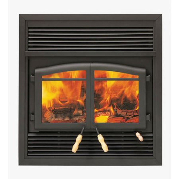 FLAME MONACO ZERO CLEARANCE WOOD BURNING FIREPLACE ... on Embers Fireplaces & Outdoor Living id=36458