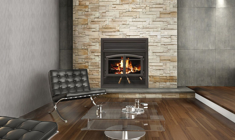 FLAME MONACO ZERO CLEARANCE WOOD BURNING FIREPLACE ... on Embers Fireplaces & Outdoor Living id=79865