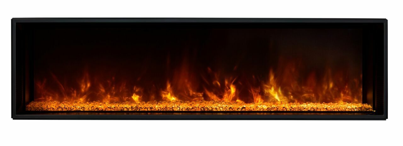 Modern Flames Landscape 60X15 Fullview Built In Electric Fireplace
