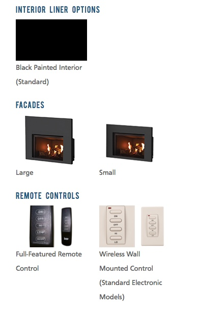 Superior Direct Vent Fireplace Insert Dri2032