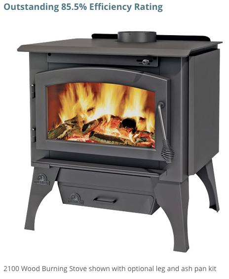 Display Model Timberwolf 2100 Wood Burning Stove Clearance