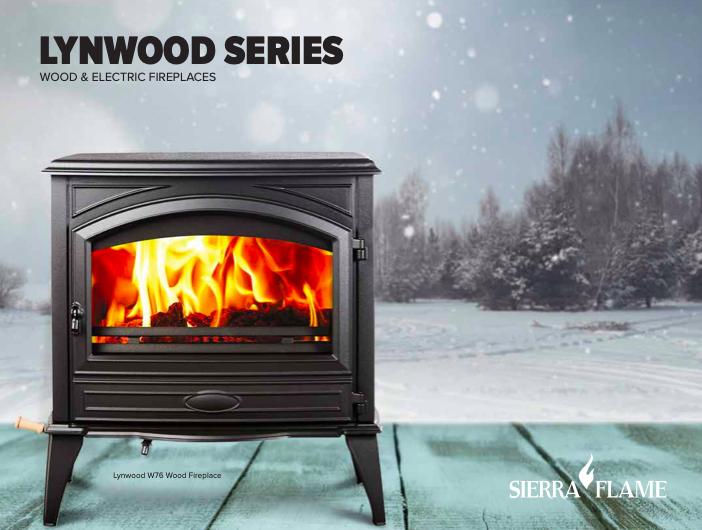 Amantii Lynwood W76 Wood Burning Stove - EPA Approved additional information 2