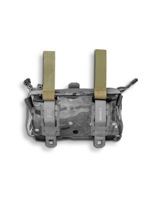 Easily hang your pouch from your plate carrier/chest rig