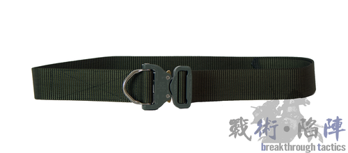 Belt with ANSI-D Cobra Buckle