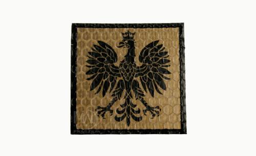 Poland Eagle Emblem Reflective Patch