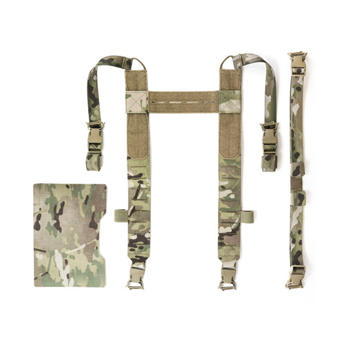 Front Flap Harness 2.0 for chest rigs and front panels