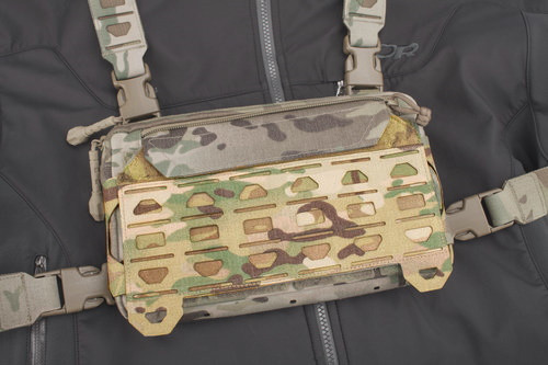 MPCS Detachable MOLLE FLAP for PR-1 chest rig