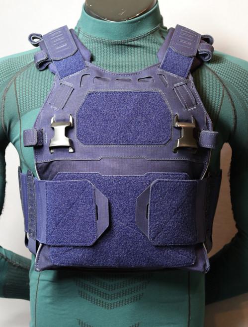 navy blue, comes with elastic cummerbunds w/pouches
