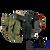 Supports a standard belt loadout