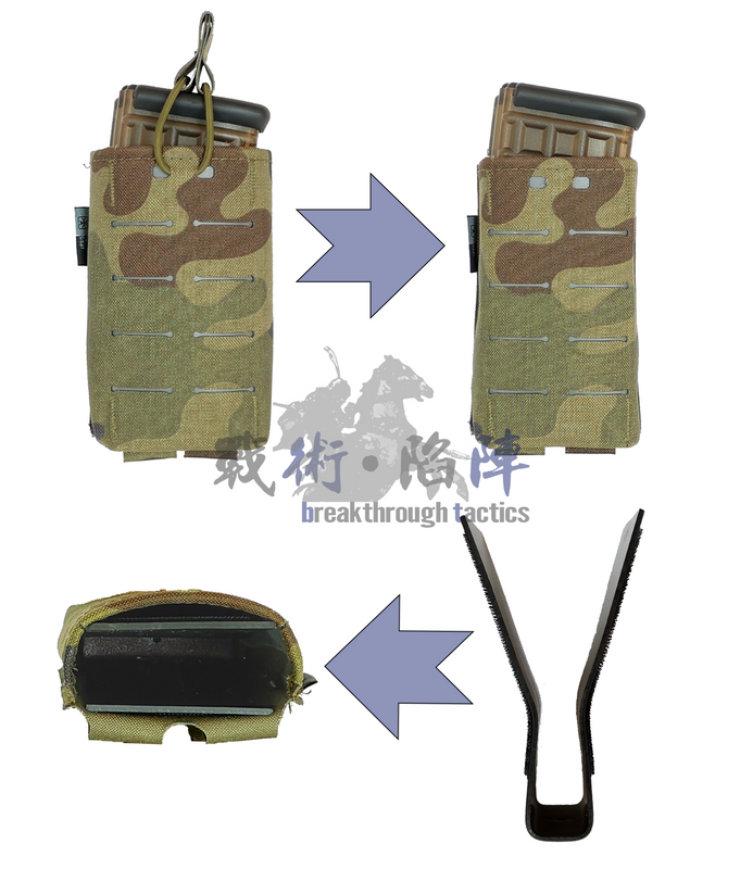 Upgrade your bungee pouches