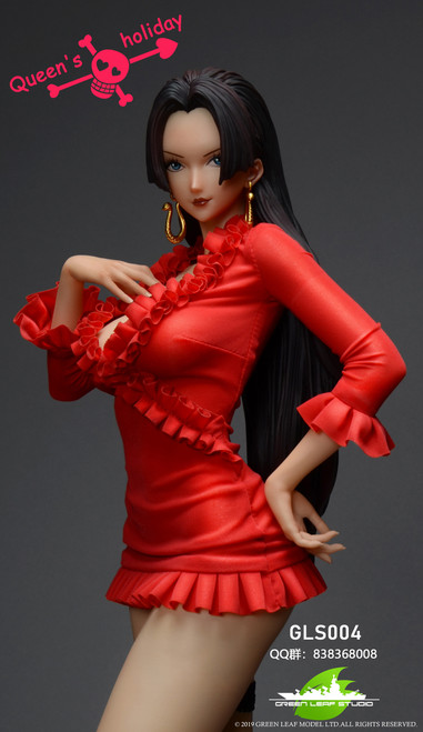 【PRE-ORDER】GREEN LEAF STUDIO 1:4 Boa Queen's holiday (Color finished product) statue