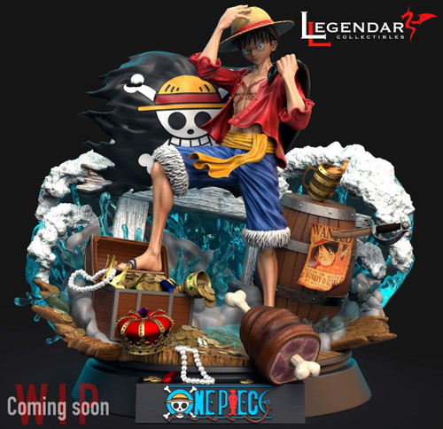 【PRE-ORDER】Legendary Collectibles 1:4 LUFFY 100 PIECE LIMITED