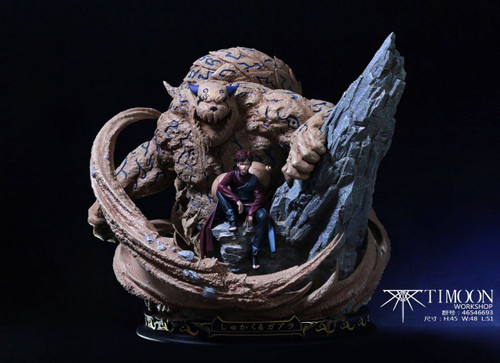 【IN-STOCK】Timoon Naruto resin statue GAARA& Shuukaku