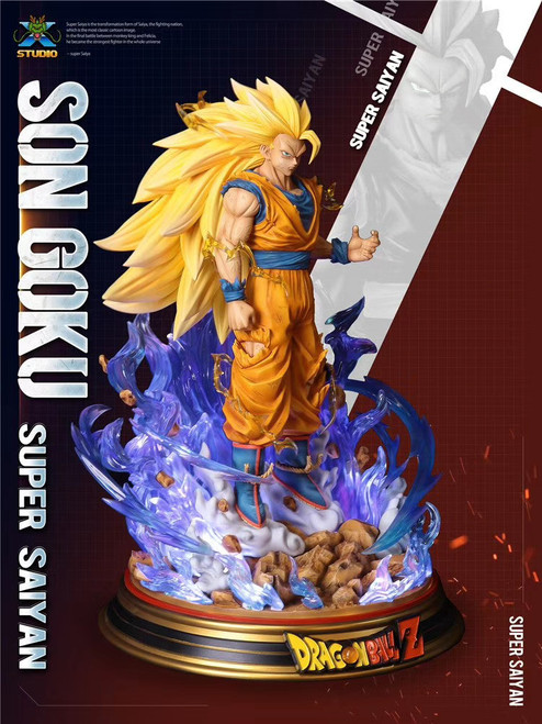 【PRE-ORDER】MX- studio super GoKu resin statues  scale1:6 /1:4