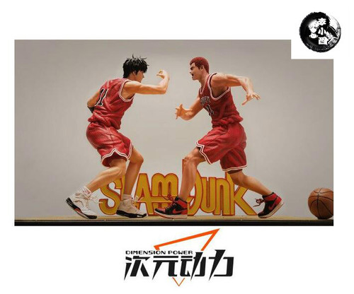【IN-STOCK】Dimensional Power  stuidos  Rukawa Kaede &Hanamichi Sakuragi  resin statue