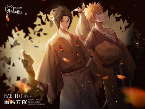 【Pre-order】Third Eye-studios Uzumaki Naruto&Sasuke  resin statue