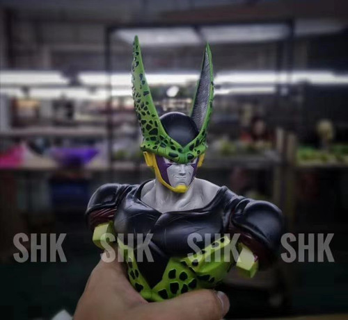 【IN-STOCK】SHK studio dragonball resin statue CELL with LED