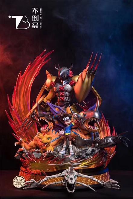 【IN-STOCK】TUMBLER studio Digimon monster WarGreymon