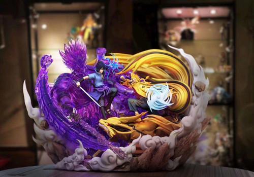 【Pre-order】Gecko studios Naruto VS  Sasuke   resin statue
