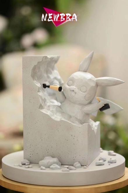 【Pre-order】NEWBRA  pikachu resin statue