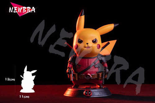 【IN-STOCK】NEWBRA StudioDeadpool pikachu resin toy Free Shipping