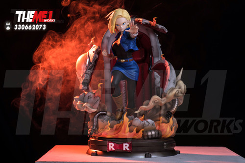 【IN-STOCK 】T1 studio dragonball resin statue Android 18 DEPOSIT
