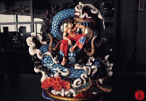 【PRE-ORDER】cola—Studio  Luffy  Kaido   resin statue