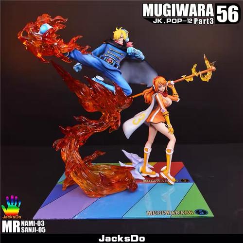【Pre-order】JACKSDO-Studio Sanji & Nami   resin statue