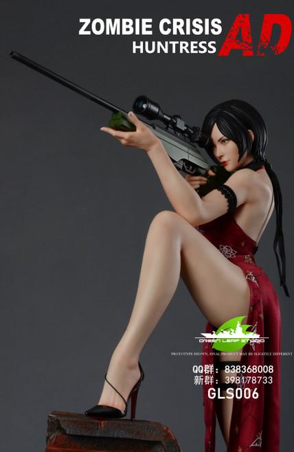 "【Pre-order】GREEN LEAF STUDIO Zombie crisis - Huntress""AD""statue"